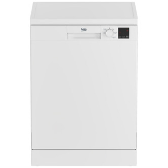 Image of Beko DVN05C20W 60cm Dishwasher in White 13 Place Setting A Rated