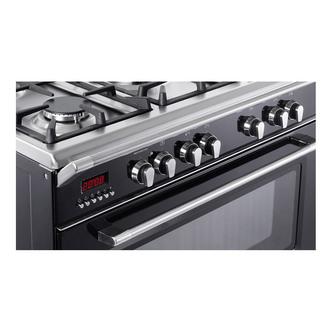 Image of Delonghi DVRS916DFBL Vintage 90cm Single Cavity D Fuel Range Cooker Bl
