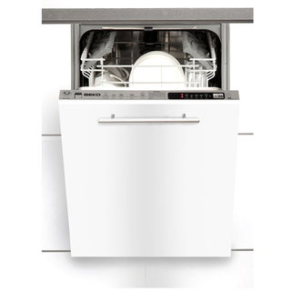 Beko DW451 45cm Fully Integrated Slimline Dishwasher