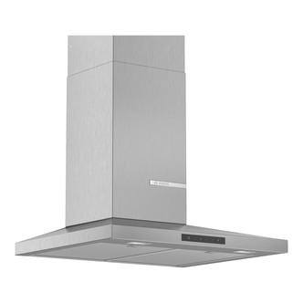 Image of Bosch DWQ66DM50B Serie 4 60cm Slimline Pyramid Design Hood Brushed Ste