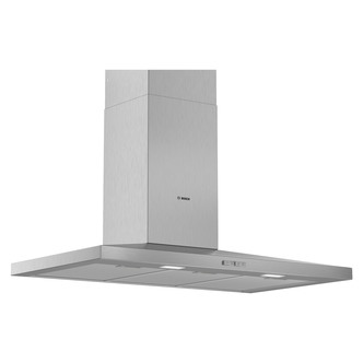 Image of Bosch DWQ94BC50B Serie 2 90cm Slimline Pyramid Design Hood Brushed Ste