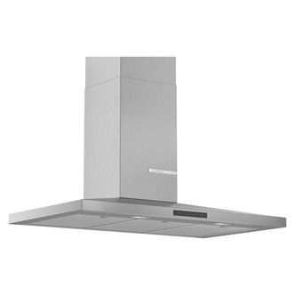 Image of Bosch DWQ96DM50B Serie 4 90cm Slimline Pyramid Design Hood Brushed Ste