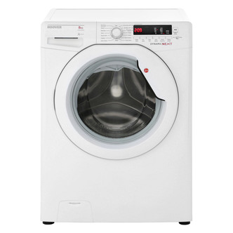 Hoover DXA68AW3 Washing Machine in White 1600rpm 8kg A AA Rated