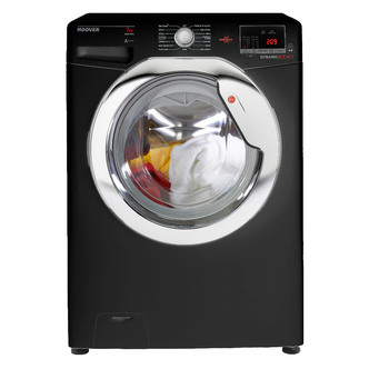 Hoover DXOC67C3B Washing Machine in Black 1600rpm 7kg A AA Rated