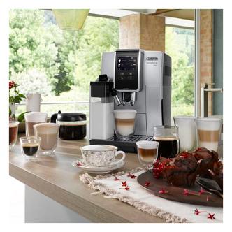 Delonghi ECAM37085SB Dinamica Plus Bean to Cup Coffee Machine Siver