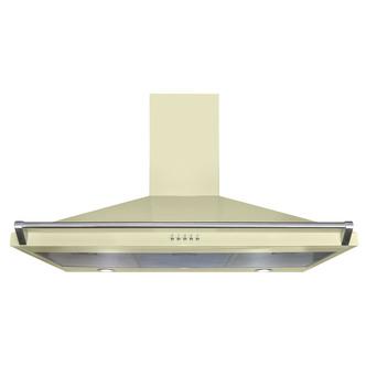 Image of CDA ECR90CM 90cm Chimney Hood in Cream 3 Speed Fan