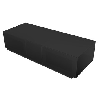 Image of Alphason EMTMOD1250BK Element High Gloss TV Cabinet 1250mm Wide in Bla