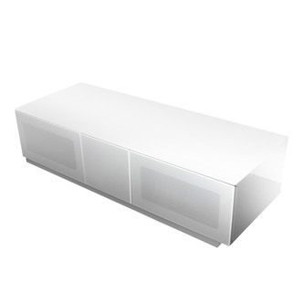 Image of Alphason EMTMOD1250WH Element High Gloss TV Cabinet 1250mm Wide in Whi