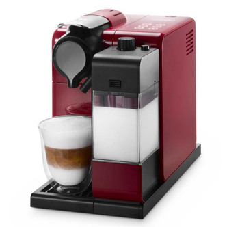 Delonghi EN550 R Nespresso Lattissima Plus Coffee Maker in Red