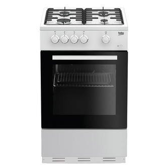 Image of Beko ESG50W 50cm Single Oven Gas Cooker in White