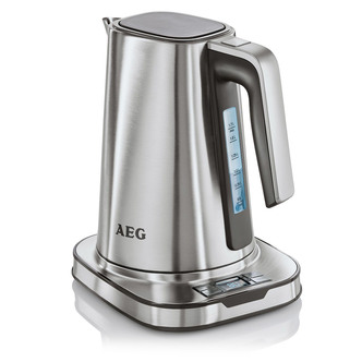 Image of AEG EWA7800U Cordless Kettle in Stainless Steel 1 7 Litre 2400W