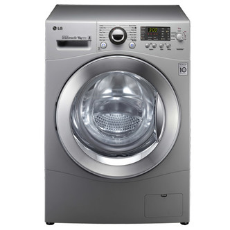 LG F1480YD5 Washer Dryer in Silver 1400rpm 8kg 6kg AAB Rated