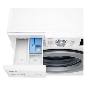 LG F4V310WSE Washing Machine in White 1400rpm 10 5kg B Rated