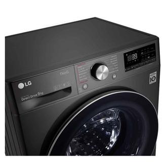LG F4V909BTSE Washing Machine in Black 1400rpm 9kg A Rated ThinQ