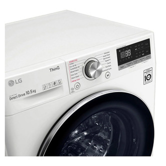LG F4V910WTSE Washing Machine in White 1400rpm 10 5kg A Rated ThinQ