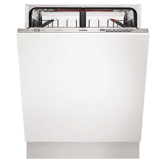 Compare prices for AEG F67622VI0P 60cm Fully Integrated 13 Place Dishwasher in St St A