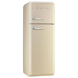 Smeg FAB30RFC 60cm Retro FAB Right Hand Hinge Fridge Freezer in Cream