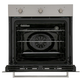 Image of Candy FCP403X Built In Single Electric Fan Oven in St Steel A Rated