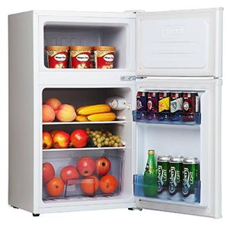 Amica FD171 4 50cm 2 Door Undercounter Fridge Freezer in White A