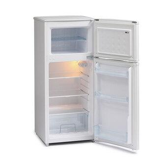 Iceking FF115AP2 48cm Top Mount Fridge Freezer in White 1 16m F Rated