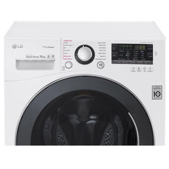 LG FH4A8JDS2 Washing Machine in White 1400rpm 10kg A Rated