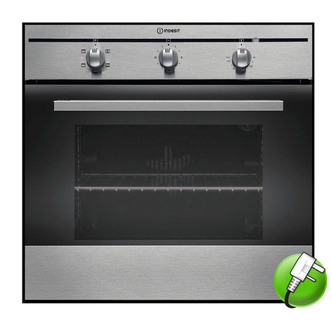 Indesit FIM21KBIX Built In Single Oven in Stainless Steel 60L B Rated