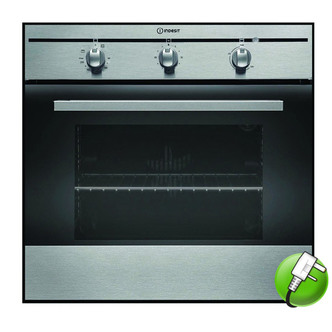 Indesit FIM31KAIX Built In Single Oven in Stainless Steel 56L A Rated