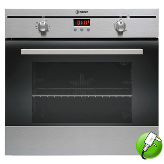 Indesit FIM33KAIX Built In Single Oven in Stainless Steel 56L A Rated