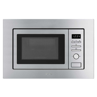 Smeg FMI017X 60cm Built In Classic Microwave Oven Grill in St St