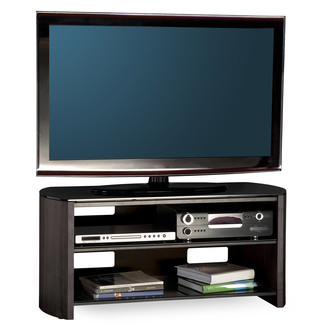 Compare retail prices of Alphason FW1100 BVB Finewoods TV Cabinet 1100mm Wide in Black Oak to get the best deal online