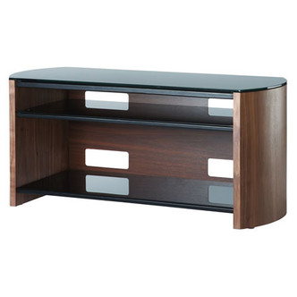 Compare retail prices of Alphason FW1100 WB Finewoods TV Cabinet 1100mm Wide in Walnut to get the best deal online