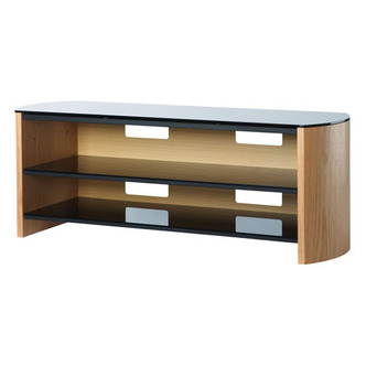 Compare retail prices of Alphason FW1350 LOB Finewoods TV Cabinet 1350mm Wide in Light Oak to get the best deal online