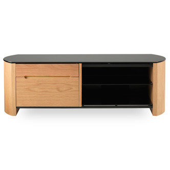 Compare retail prices of Alphason FW1350CB LO Finewoods TV Cabinet with Storage 1350mm in Light to get the best deal online