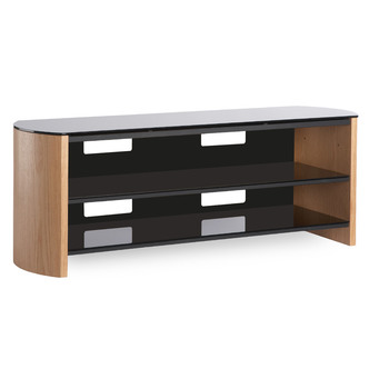 Compare retail prices of Alphason FW1350SB LO Finewoods TV Cabinet 1350mm Wide in Light Oak to get the best deal online