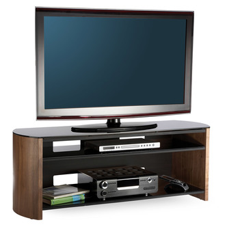 Compare retail prices of Alphason FW1350SB W Finewoods TV Cabinet 1350mm Wide in Walnut to get the best deal online