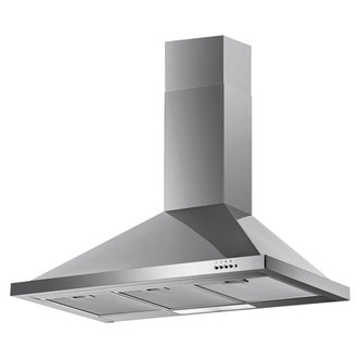 Image of Iberna FW90 3SS 90cm Chimney Hood in Stainless Steel