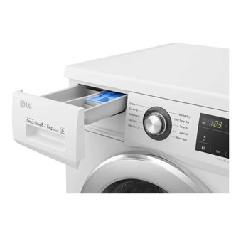 Image of LG FWMT85WE Washer Dryer in White 1400rpm 8kg 5kg Smart Diagnosis