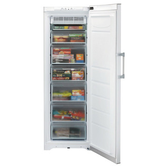 Hotpoint FZFI171P Tall Frost Free Freezer in White 1 75m 245L A Rated