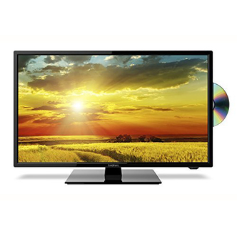 Goodmans G24230F 24 HD Ready LED TV with DVD Black