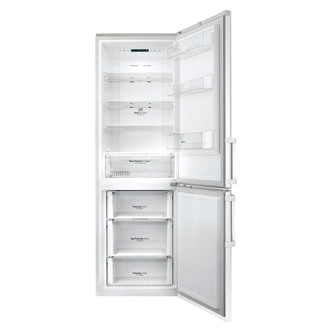 Fridge Freezers LG GBB59SWJZB Frost Free Fridge Freezer in White 1 9m 70 30 A