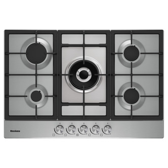 Image of Blomberg GMB83512 60cm Gas Hob in Stainless Steel with FSD