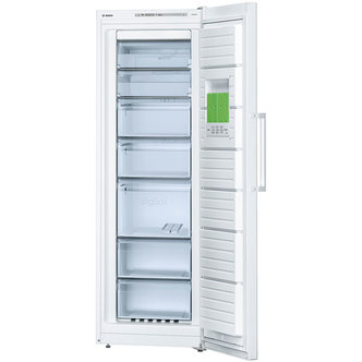 Image of Bosch GSN33VW30G EXXCEL Tall Frost Free Freezer in White 1 76m A