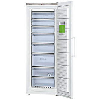 Image of Bosch GSN58AW30G LOGIXX No Frost Freezer in White 1 91m 70cmW A