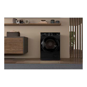 Hotpoint H3D81BUK 8kg Condenser Tumble Dryer in Black B Rated