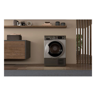 Hotpoint H3D81GSUK 8kg Condenser Tumble Dryer in Graphite B Rated