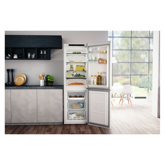 Hotpoint H3T811IW Frost Free Fridge Freezer in White 1 89m 60cm F Rate