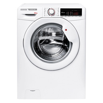 Image of Hoover H3W4105TE Washing Machine in White 1400rpm 10Kg A Rated