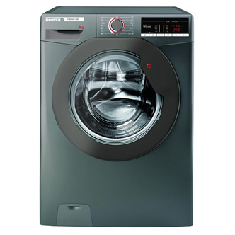Image of Hoover H3W58TGGE Washing Machine in Graphite 1500rpm 8Kg A Rated