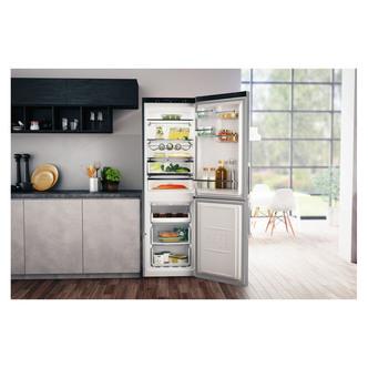 Hotpoint H5T811IMXH Frost Free Fridge Freezer in Mirror Inox 1 89m 60c