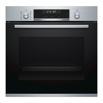 Image of Bosch HBG5585S0B Serie 6 Single Catalytic Oven in Br Steel 3D Hotair